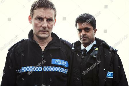 Anthony Flanagan as PS Sean Cobley and Divian Ladwa as PC Drakes.