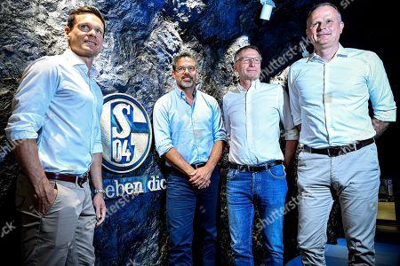 Editorial image of New FC Schalke 04 head coach David Wagner, Gelsenkirchen, Germany - 27 Jun 2019