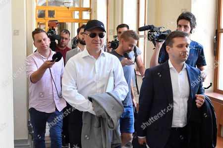 Editorial picture of Former North Macedonia prime minister Nikola Gruevski's extradition trial in Budapest, Hungary - 27 Jun 2019