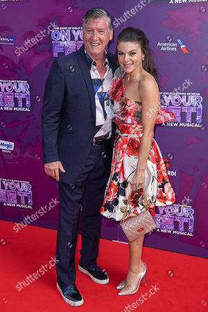 Robin Cousins and Faye Brookes