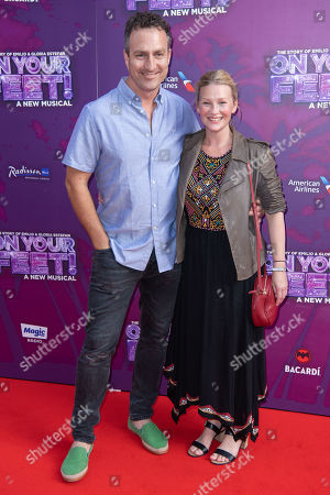 Stock Image of James Thornton and Joanna Page