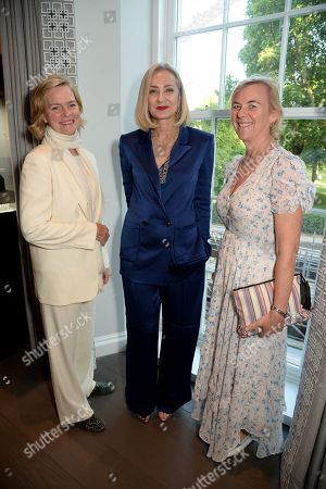 Lady Ruth Dundas, Maria Buccellati and guest