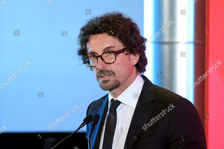 Danilo Toninelli during the Presentation of the Plan for the development of tourism