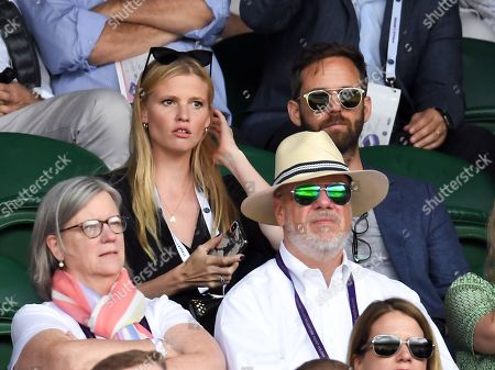 Lara Stone and David Grievson on Centre Court