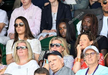 Amber Le Bon, Leomie Anderson and Lancey Foux on Centre Court