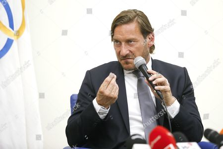 Editorial picture of Francesco Totti resigns from role at AS Roma, Rome, Italy - 17 Jun 2019