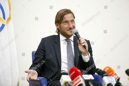 Editorial image of Francesco Totti resigns from role at AS Roma, Rome, Italy - 17 Jun 2019