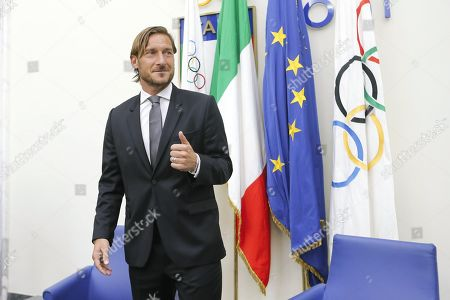 Editorial photo of Francesco Totti resigns from role at AS Roma, Rome, Italy - 17 Jun 2019