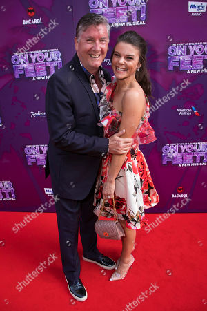 Stock Photo of Robin Cousins and Faye Brookes