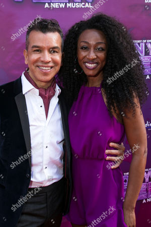 Stock Picture of Sergio Trujillo (Choreographer) and Beverley Knight