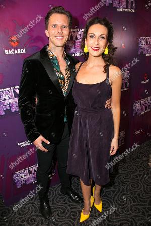 Stock Picture of John Addison and Madalena Alberto (Gloria Fajardo)
