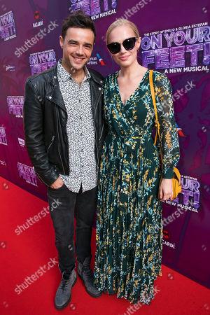 Ben Adams and Sara Skjoldnes