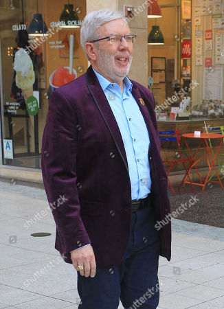 Editorial image of Leonard Maltin out and about, Los Angeles, USA - 26 Jun 2019