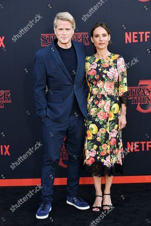 Editorial picture of 'Stranger Things' TV Show Season 3 Premiere, Arrivals, Santa Monica High School, Los Angeles, USA - 28 Jun 2019