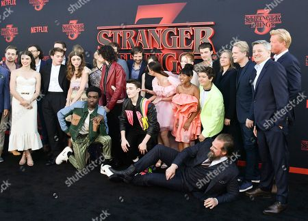 Editorial picture of 'Stranger Things' TV Show Season 3 Premiere, Arrivals, Santa Monica High School, Los Angeles, USA - 28 Jun 2019