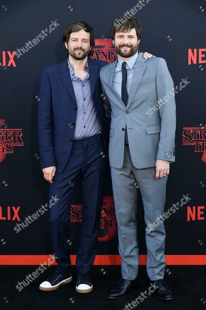 Stock Image of Matt Duffer and Ross Duffer