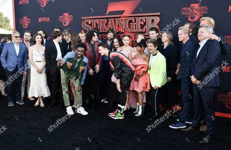 Editorial photo of 'Stranger Things' TV Show Season 3 Premiere, Arrivals, Santa Monica High School, Los Angeles, USA - 28 Jun 2019