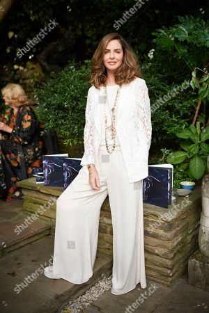 Trinny Woodall attends Kate Braine's Summer Exhibition 'Tendril Is The Night'