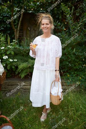 Alexandra Tolstoy attends Kate Braine's Summer Exhibition 'Tendril Is The Night'