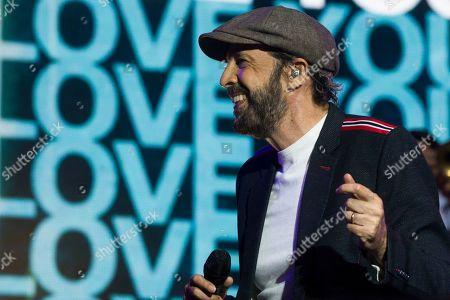 Editorial photo of Juan Luis Guerra in concert, Wizink Center, Madrid, Spain - 27 Jun 2019
