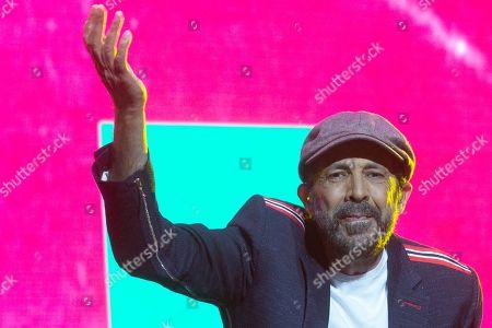 Editorial image of Juan Luis Guerra in concert, Wizink Center, Madrid, Spain - 27 Jun 2019