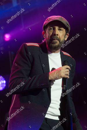 Editorial picture of Juan Luis Guerra in concert, Wizink Center, Madrid, Spain - 27 Jun 2019