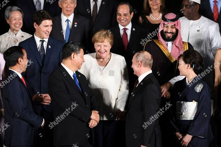 Editorial picture of G20 summit in Osaka, Japan - 28 Jun 2019