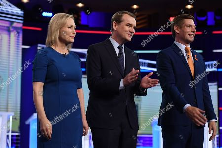 Stock Picture of Kirsten Gillibrand, Michael Bennet, Eric Swalwell