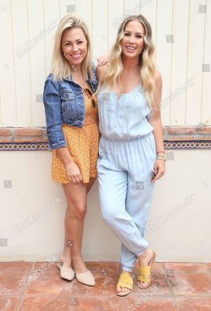 Jessica Hall and Mel Lamprey