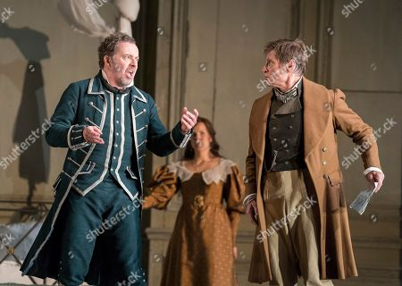 Stock Picture of Christian Gerhaher as Figaro, Julia Kleiter as Countess Almaviva, Simon Keenlyside as Count Almaviva,