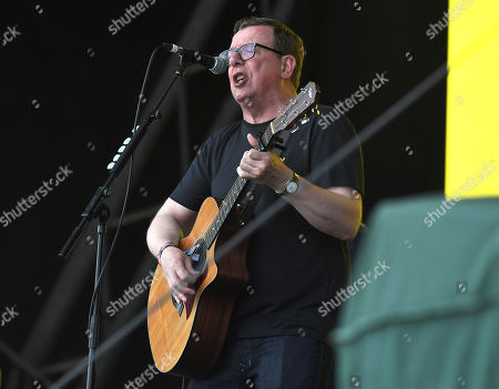 Stock Picture of Charlie Reid of the Proclaimers