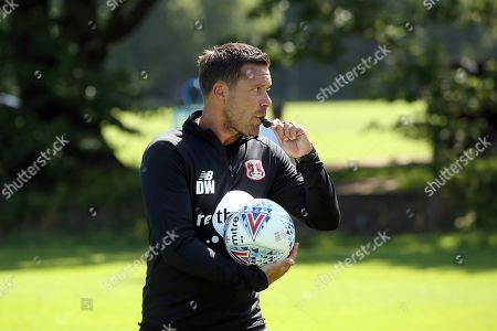 Leyton Orient Interim Assistant Head Coach Danny Webb during a pre-season training session at the Chigwell Training Ground on 27th June 2019