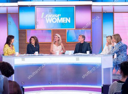 Andrea McLean, Nadia Sawalha, Tracy Shaw, Brian Capron, Carol McGiffin and Kaye Adams