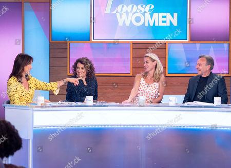 Stock Photo of Andrea McLean, Nadia Sawalha, Tracy Shaw, Brian Capron