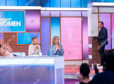 Stock Picture of Tracy Shaw, Brian Capron, Carol McGiffin and Kaye Adams
