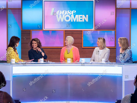 Andrea McLean, Nadia Sawalha, Elizabeth Gilbert, Carol McGiffin and Kaye Adams