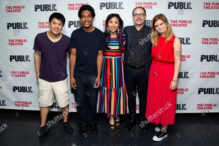 Stock Picture of Tyler Hsieh, Josh Henderson, Jessica Wang, John Blevins, Tomina Parvanova