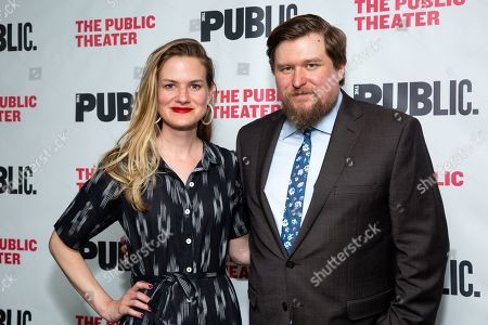 Editorial picture of 'We're Only Alive ...' play opening night, New York, USA - 27 Jun 2019