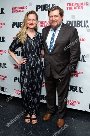 Editorial image of 'We're Only Alive ...' play opening night, New York, USA - 27 Jun 2019