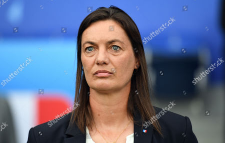 Stock Picture of Head coach Corinne Diacre of France