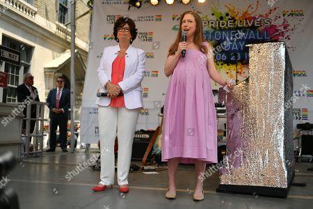 Valerie Jarrett and Chelsea Clinton