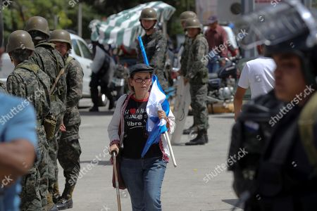 Editorial image of Security forces prevent commemoration for the 10 years of the coup in Honduras, Tegucigalpa - 28 Jun 2019