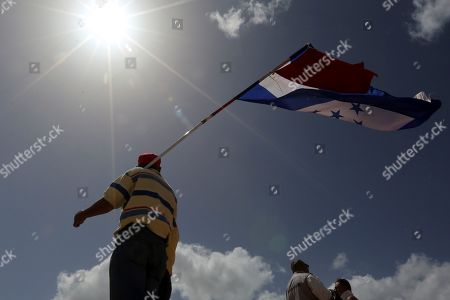 Editorial photo of Security forces prevent commemoration for the 10 years of the coup in Honduras, Tegucigalpa - 28 Jun 2019