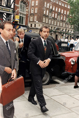 Stock Image of Businessman Sir Alan Sugar Baron Sugar Of Clapton Pictured Arriving At High Court.