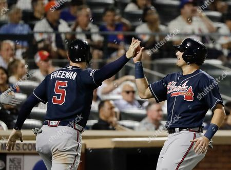 Editorial picture of Braves Mets Baseball, New York, USA - 28 Jun 2019