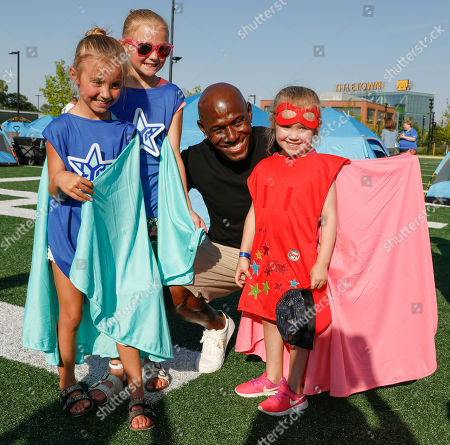 Editorial picture of Northwestern Mutual Foundation's Ultimate Campout Fighting Childhood Cancer, Green Bay, USA - 28 Jun 2019