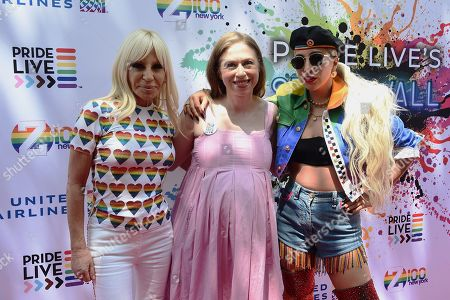 Donatella Versace, Chelsea Clinton, Lady Gaga