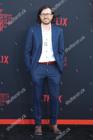 Dan Cohen poses for the photographers on the red carpet prior to the premiere of 'Stranger Things: Season 3' in Santa Monica, California, USA, 28 June 2019. The TV show will be released on 04 July.