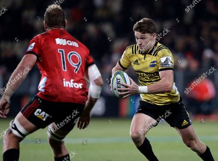 Editorial picture of Super Rugby Crusaders Hurricanes, Christchurch, New Zealand - 29 Jun 2019