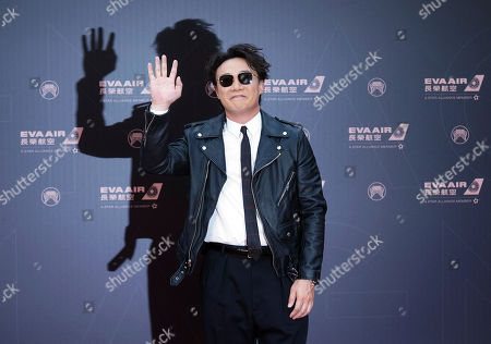 Stock Image of Hong Kong singer Eason Chan arrives at the 30th Golden Melody Awards in Taipei, Taiwan, . Chan is nominated as Album of the Year and Song of the Year for his album ''L.O.V.E.'' at this year's Golden Melody Awards, one of the world's biggest Chinese-language pop music annual events